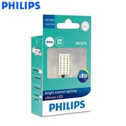 Philips светодиодный-Мульти T10 G14 светодиодный мульти-розетки для чтения настольная лампа 6000 K белый внутренний свет 12957ULWX1 подходит SV8.5-8, W2.1x9.5d, ...