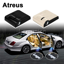 Atreus For Audi A3 BMW E90 E39 E36 Volvo Ssangyong Subaru XV Fiat Punto Car Door Welcome Light Laser Projector LED Accessories