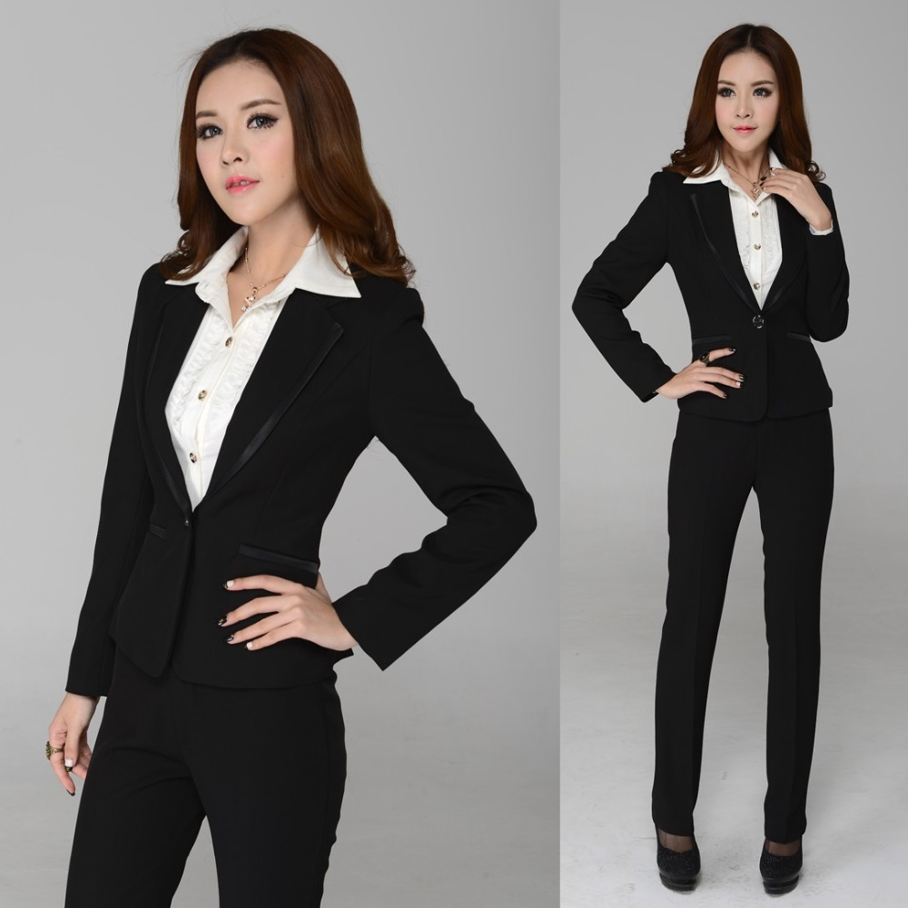 Business pants suits for women 2013