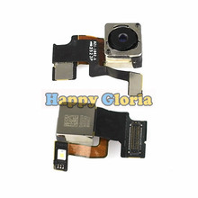 100% New Rear Back Camera Module Flex Cable With Flash Lamp Light Ribbon Replacement Parts For iphone 5 5G