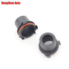Dongzhen 2PCS Auto Car H7 Light HID Xenon Lamp Bulb Adapter Holders Base Fit For OPEL H7 Car Styling Accessorie