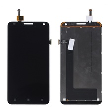 For Lenovo S580 S 580 OEM LCD Screen and Digitizer Assembly Replacement Part Mobile Phone Display Repair Parts  - Black