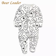 Buy Bear Leader Baby Rompers Autumn Fashion Baby Boy Clothes Children Clothing Long-sleeve Striped Newborn Rompers Baby Jumpsuit for $6.99 in AliExpress store