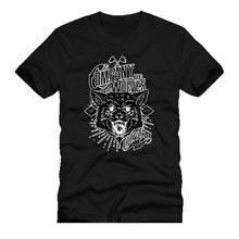 Cool T-Shirts Designs Best Selling Men company of wolves never turn back est 100% Cotton Men Women T Shirt Tees Custom