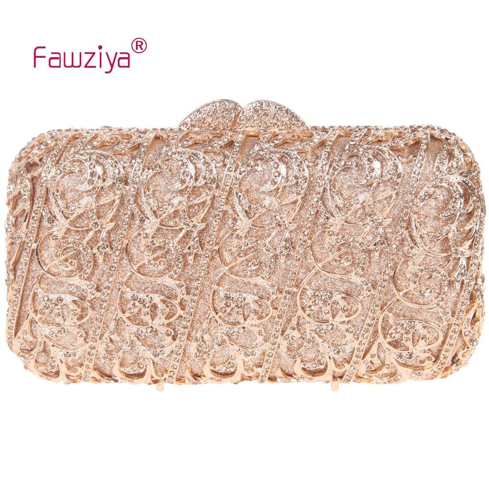 Fawziya Bag Pattern Flower Vine Diamond Purse Crystal Evening Clutch Bags<br><br>Aliexpress
