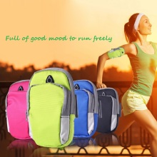 4 Color Phone Protective Running Bag Outdoor Sports Arm Belt Waterproof Nylon Wrist Bag For Running Fitness Phone Holder(China)