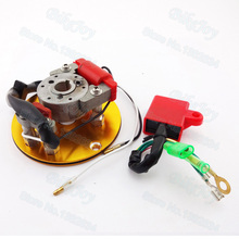 Gold Racing Magneto Stator Rotor Ignition CDI Box For Chinese Lifan YX 110cc 125cc 140cc Engine Pit Dirt Motor Bike