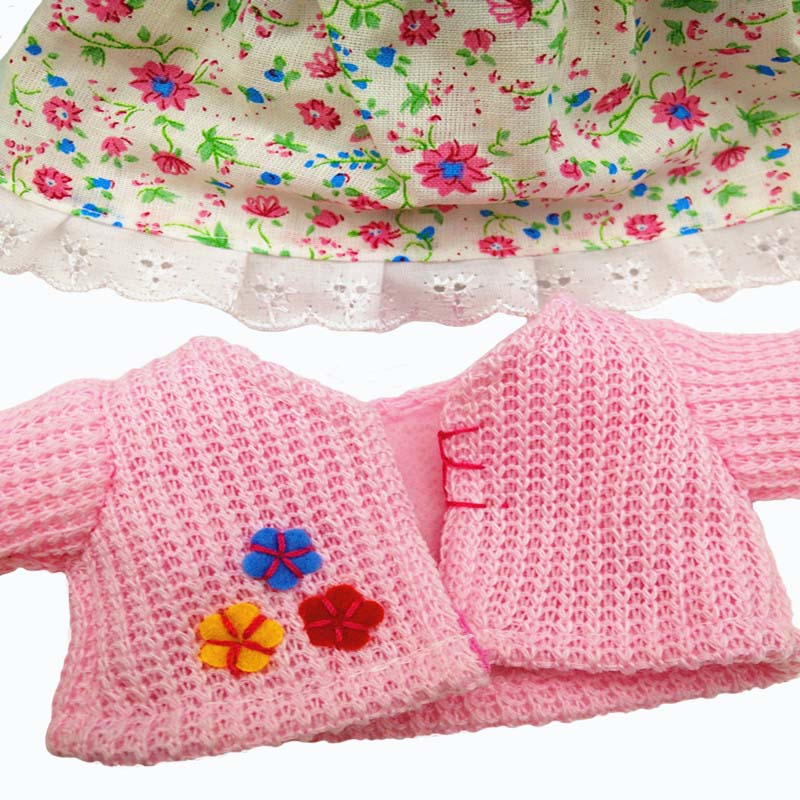 doll pink cloth kids 3