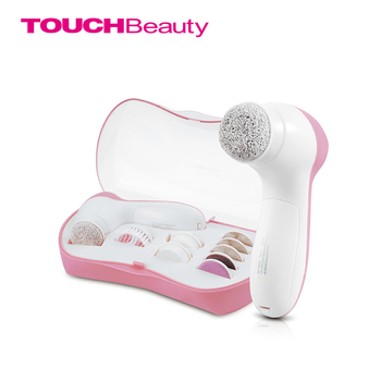 TOUCHBeauty râpe à pied fichier callosités enlever la peau sèche 9 in1 pédicure & nettoyage brosse ensemble TB-0601B