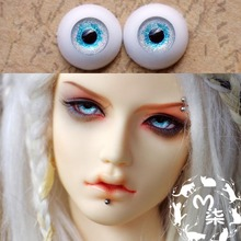 1Pair Retail MSD BJD Doll Accessories Acrylic Doll Eyes 10MM 12MM 14MM 16MM(China)