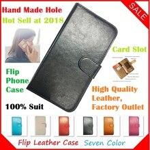 Elephone P7000 Case, 2018 New Fashion Luxury Flip Crazy Horse Leather Phone Cases Capa Elephone P7000 Pioneer Case