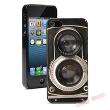 Vintage Twin Reflex Camera Mobile phone cover case for iPhone 4s 5s 5c 6 6s 7plus Samsung galaxy s4 s5 s6 s7 S7 edge
