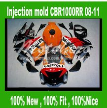 Injection Fairings for HONDA CBR1000RR 2008 2009 2010 2011 CBR1000 RR 08 09 10 11 CBR1000RR 08-11 fairing kits REPSOL #sd22v