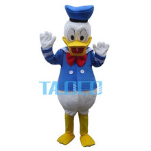 New Donald Duck Mascot Costume Cartoon Fancy Party Dress Free Shipping Adult(China)