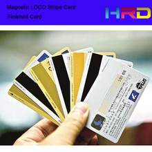 Magnetic LoCo free shipping magnetic loco card PVC magnetic stripe card use for access control loyalty membership advertisement