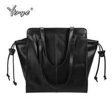 YBYT brand 2017 new women pack fasgion motorcycle handbags ladies shopping tote package casual shoulder bags famous designer bag