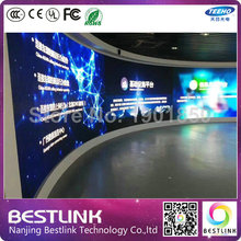 p3.91 led indoor Cylinder Curved Giant Advertising Display Screen rgb video wall indoor led video screen led screen processor