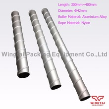Twisted Rope Ink Mixing Roller For gravure printing machine 42mm*L300mm~L400mm(China)