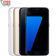 Samsung Galaxy S7 G930V 4GB RAM 32GB ROM Mobile Phone Quad Core 5.1inch 12MP WIFI 3000mAh Fingerprint