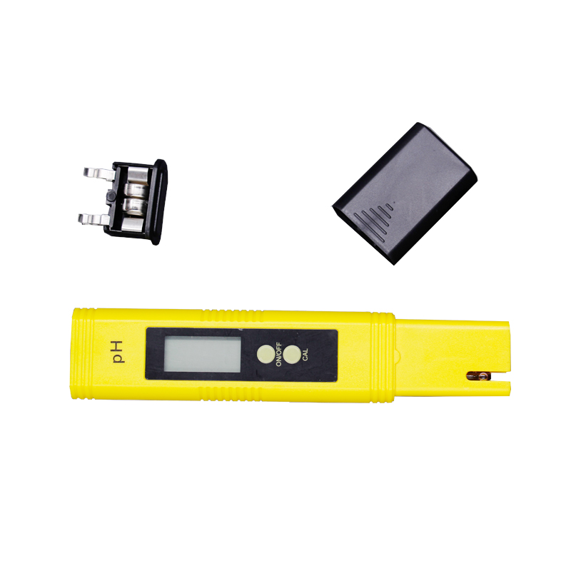 100pcs by dhl fedex Pen 0.01 LCD Acid aquarium Water Quality salt pool tester pH Meter Acidometer Analyzer with retail box %Of 5