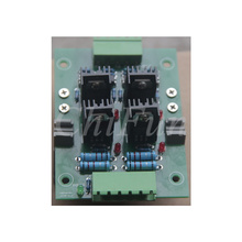 PLC amplifier board 4 channel transistor amplifier board isolation board output board 2 post package installation rack
