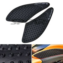 For Kawasaki ZX6R ZX 6R 2007 2008 Motorcycle Protector Anti slip Tank Pad Sticker Gas Knee Grip Traction Side 3M Decal(China)