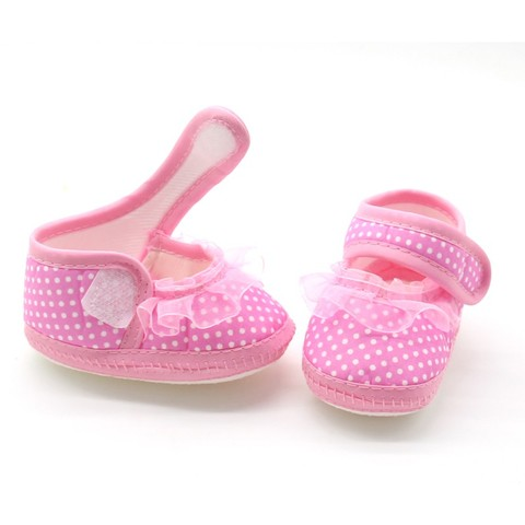 Girl Bowknot Footwear h Mes First Walker Shoes Baby