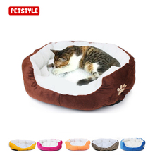 50 * 40cm lamb calf pet cat puppy bed suitable for kitten pet dog supplies kitten family puppy cushion sofa cat life pet supplie(China)