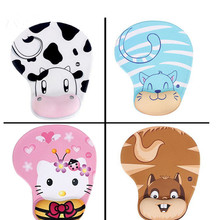 2017 new 3d breast mouse pad Cartoon Creative cute gaming mouse pad Animal Skid soft mice pad  mouse pad  mats free shipping