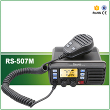 High Quality IP-X7 25W Waterproof VHF Marine Transeiver Station RS-507 with Built-in DSC Function
