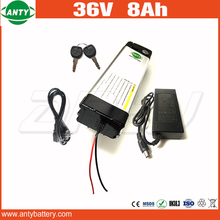 Electric Bicycle Battery 36v 8ah 500w With 42v 2A Chargere e Bike Battery 36v Built in 30A BMS Scooter Battery 36v Free Shipping
