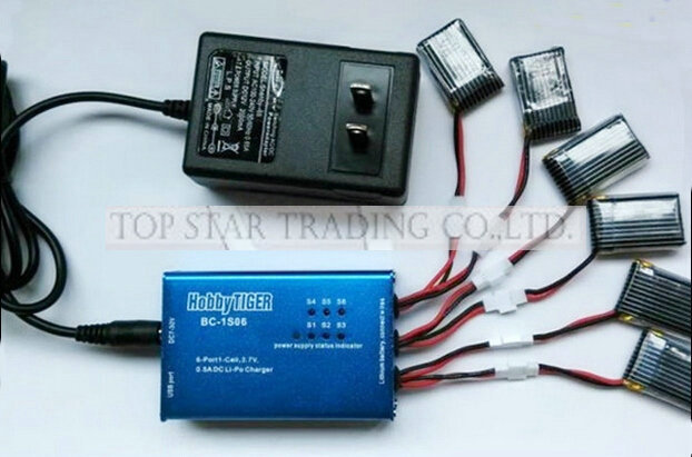 JXD 392 aerocraft parts Charger + Balance charger box without battery jxd 392 Quadrocopter<br>