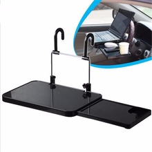 Car Laptop Holder Back Seat Notebook Stand Car Cup Holder Dining Table Foldable Laptop Stand Food Drink Tray Car Accessories