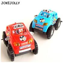 Fun somersaults Toy Truck Car Jeep Suv Moto Vehicle Micky Mouse Baby Child Electric Great Xmas Gift WYQ