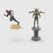6.5cm The Avengers Anime Movies Figures Mini Ant Man Wasp PVC Action figure doll toys for kids christmas gifts