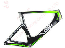Chinese Cheap price time trial carbon frame triathlon 700C carbon tt bike frame with free shipping(China)