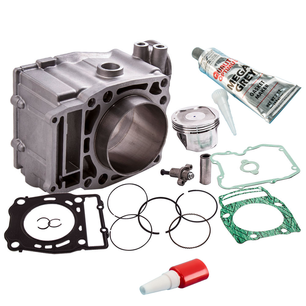 For POLARIS SCRAMBLER 500 CYLINDER PISTON GASKET TOP END KIT SET 1997-2012