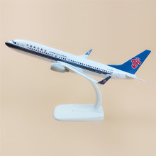 20cm Metal Plane Model Air China Southern Airlines B737 Airplane Model Boeing 737 Airways w Stand Aircraft Gift(China)