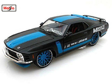 Maisto 1:24 1970 Boss 302 Ford Mustang Diecast Model Car Toy New In Box Free Shipping