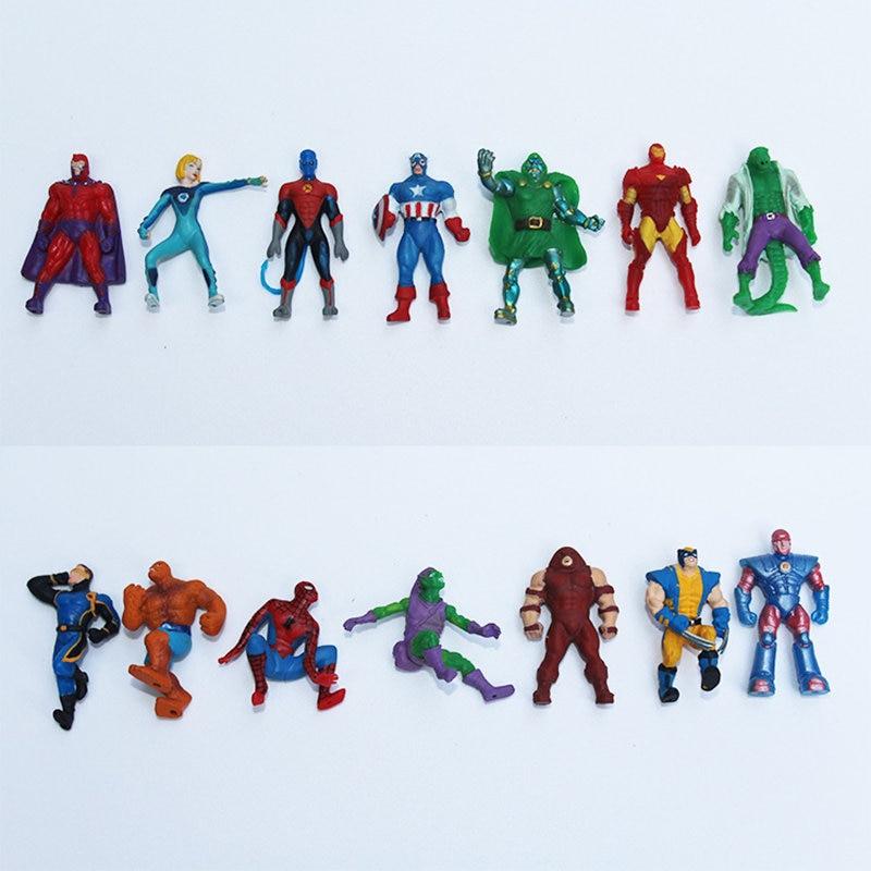 random Lot 10PCS Ooshies DC Comics Marvel Pixar Car Movies FIGURE Toy Xmas Gift