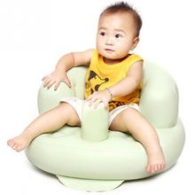 Small Inflatable Sofa Portable Baby Chair Baby Learn Seat Inflatable Baby Seat Chair Kid(China)