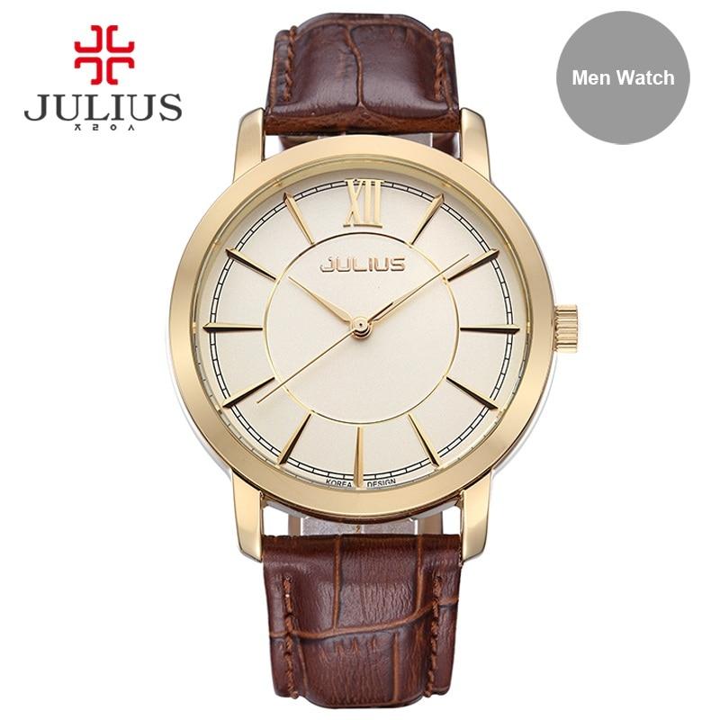 Julius Men Watreproof Watch Light Rose Gold Silver Montre Homme Men Business Clock Wach Hand Wrist Whatch Relogio Relojes JA-808<br><br>Aliexpress