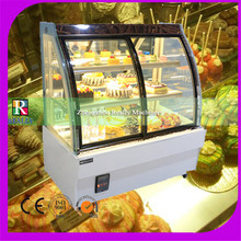 New products Air Cooling 550W small display fridge mini cake display refrigerator cake display cabinet(China)