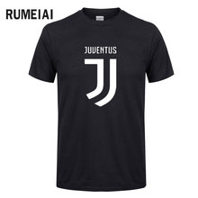 RUMEIAI 2017 Summer Fashion Juventus T Shirt Men's Short Sleeve cotton Printed T-Shirt Funny Tees Harajuku Shirts Cool Tops