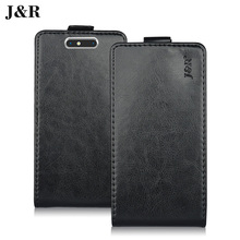 Original J&R Leather Case For ZTE Blade V8 X9 Nubia Z11 MINI Coque Funda Phone Bag Cover Magnic Buckle Free Ship Free Film