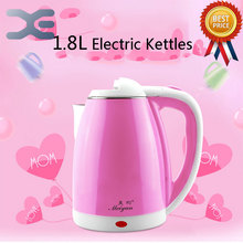 1.8L Electric Kettle Non Through Steel Kettle Double Layer Anti Scald Electric Kettle Small Household Appliance