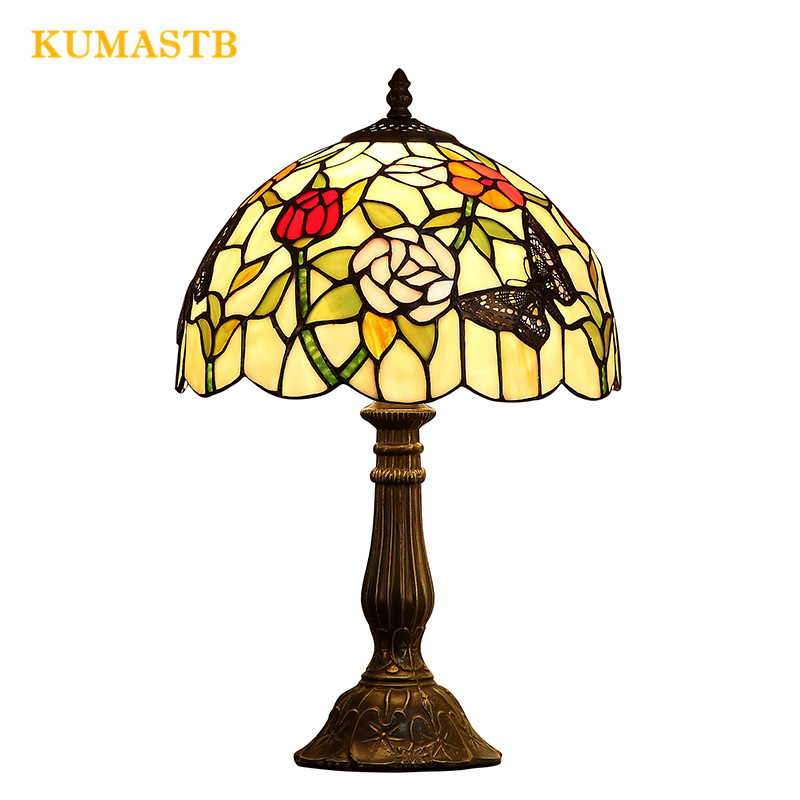 Stained Glass Desk Lamp 4