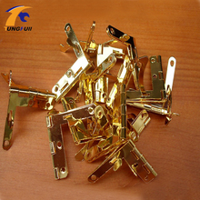 31*33mm Wooden box hinge for table folding table hinges small metal hinge Fast Shipping In Stock 50pcs(China)
