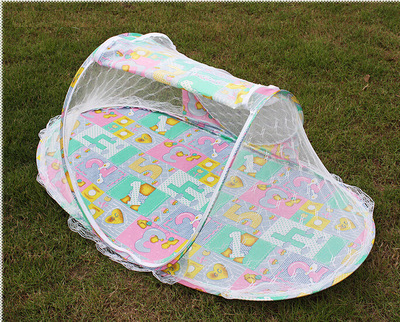 children baby tent bed mosquito net stand 110cm*40 cm*60cm mosquitoes mesh baby portable bed infant portable crib mosquito net