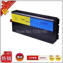 DHL UPS Fedex Freeshipping!CE&RoHS Approved,2000w solar Invertor,12v 240v ac 50Hz/60Hz Pure sine wave,one year warranty(China)